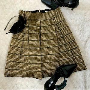 Gold Shimmer Bandage Skirt